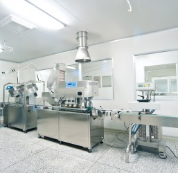 "New pharmaceutical production plant at ""GRINDEX"" factory in Riga"